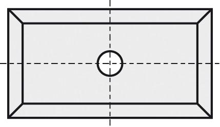 BRÜCK HW-WP 19,5x12x1,5 mm B10