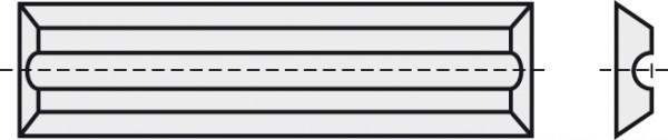 BRÜCK HW-WP 40x5,5x1,1 mm RN B10