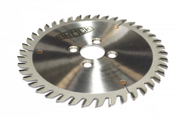 HW-Nutsäge 120x4,0x25 mm Z 12-MEC Flachzahn-Bohrung mit KN 8x4 mm