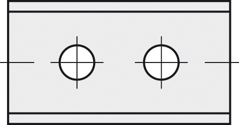 BRÜCK HW-WP 40x12x1,5 mm B30