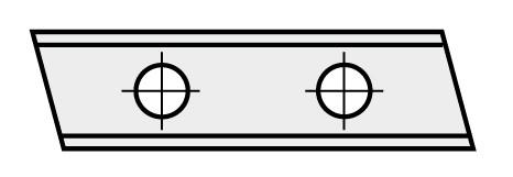 BRÜCK HW-WP 31,5x9x1,5 mm B10