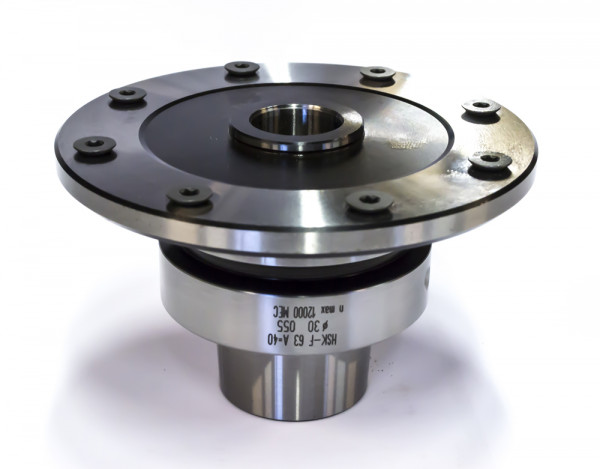 Sägeblattaufnahme für CNC-HSK 63F A=80 mm D=30/106 mm m. 8NL M5/TK90