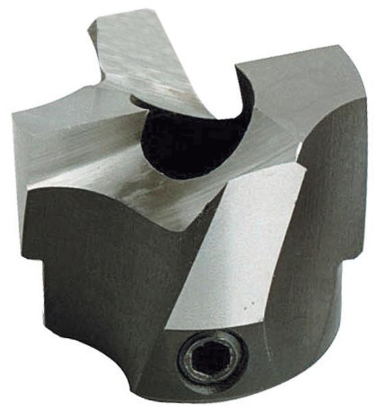 HS-Aufsteck-Stufensenker D1=10mm D2=25mm NL=16mm