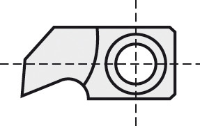 BRÜCK HW-WP 24,5x13x5 mm B10