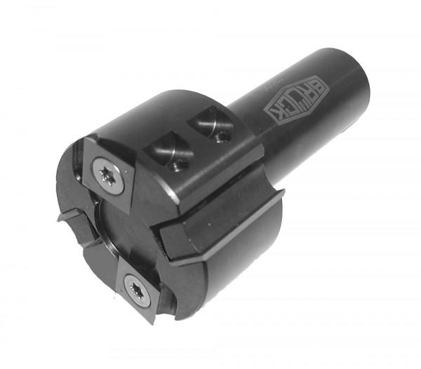 WP-Füge- u. Falzmesserkopf für CNC-Maschinen D=60xSB=50 GL=114,3 S=25mm Z2+V2