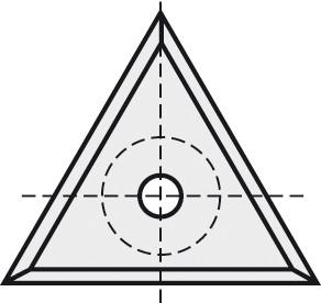 BRÜCK HW-VS 22,86x19,86x2,5 mm B05
