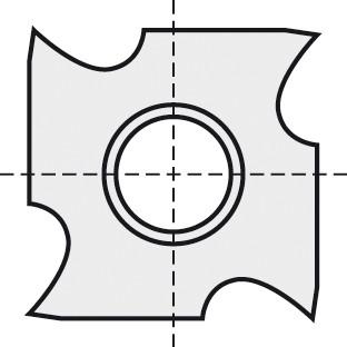 BRÜCK HW-VS 14x14x2,5 mm B05