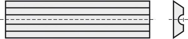 BRÜCK HW-WP 50x5,5x1,1 mm RN B10