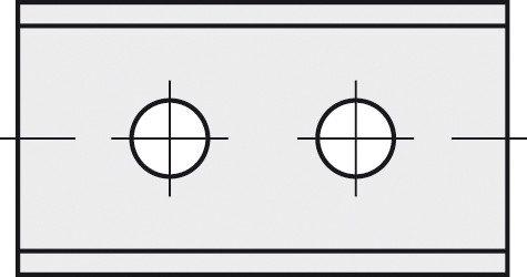 BRÜCK HW-WP 40x12x1,5 mm B10pol