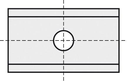 BRÜCK HW-WP 9,6x12x1,5 mm B10