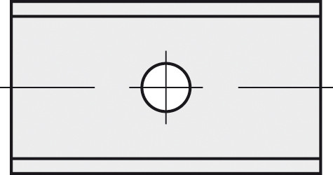 BRÜCK HW-WP 7,5x9x1,5 mm B05