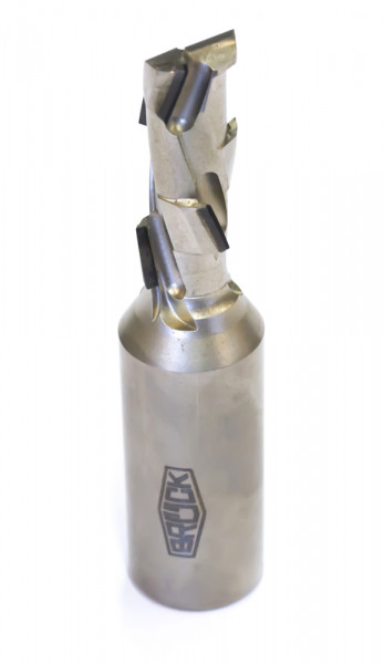 DP-Schaftfräser Z 1+1 -ECO- / rechts D=12 mm L1=75 mm L2=25 mm S=12x40mm