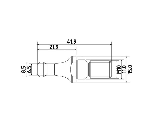 Anzugsbolzen SK30 SCM Morbidelli