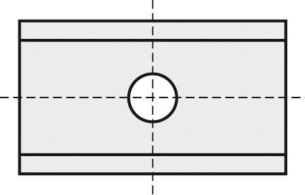 BRÜCK HW-WP 24,7x12x1,5 mm B10 - 45°