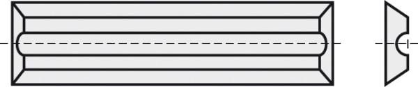 BRÜCK HW-WP 20x5,5x1,1 mm RN B10