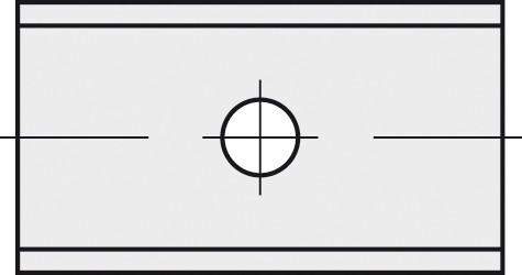 BRÜCK HW-WP 29,5x9x1,5 mm B10