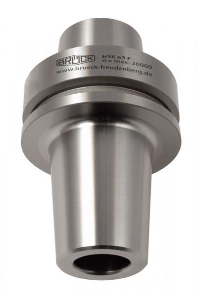 Warmschrumpffutter HSK 63 F A=75 mm, für Schaftdurchmesser 25 mm