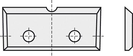 BRÜCK HW-WP 23x7x1,5 mm B10