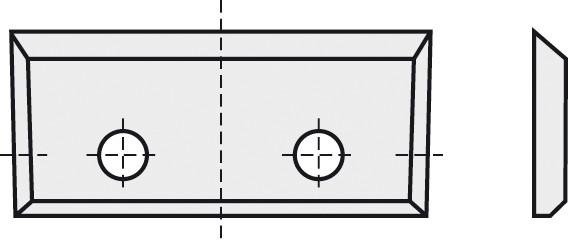 BRÜCK HW-WP 28x7x1,5 mm B10