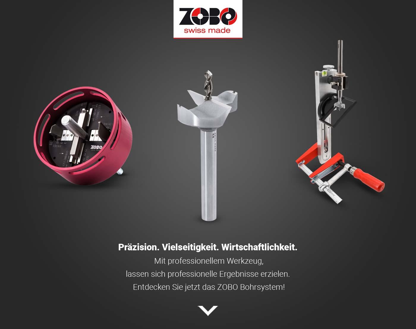 Zobo Bohrsystem Geräte
