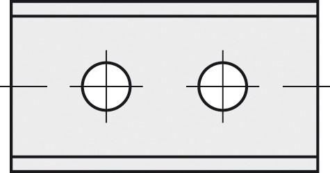 BRÜCK HW-WP 40x12x1,5 mm B10 - 45°