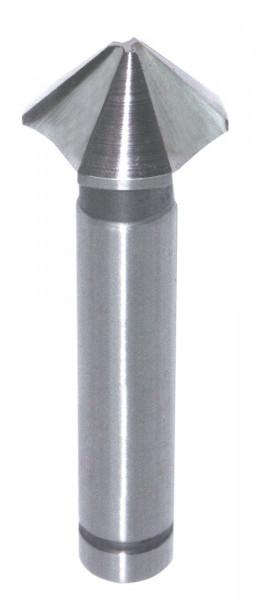 HS-Kegel- u. Entgratsenker D=6,35mm S=5mm GL=40mm