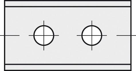 BRÜCK HW-WP 30x12x1,5 mm B10 - 45°