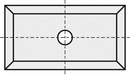 BRÜCK HW-WP 19,5x12x1,5 mm B40