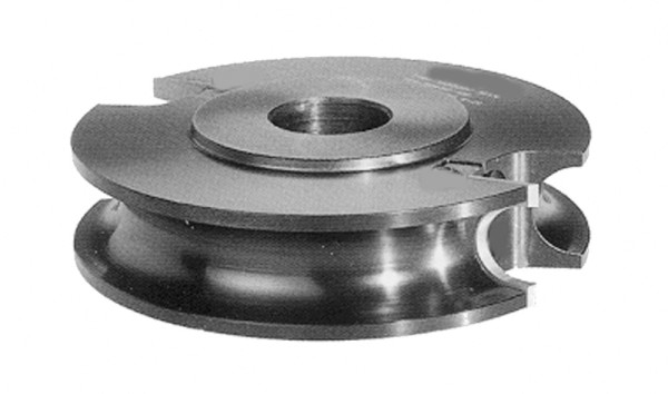 HW-WP-Halbstab-Profiler 126 x 25 x 30mm R=4-6mm