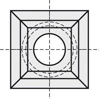 BRÜCK HW-WP 21x21x5,5 mm B10