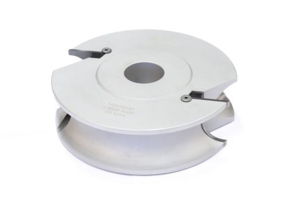 HW-WP-Halbstab-Profiler 142x40x30mm R=12,5-15mm