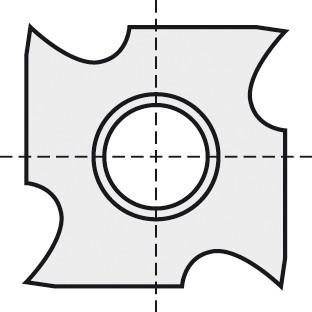 BRÜCK HW-WP 18x18x4 mm B05