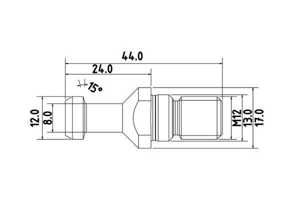 Anzugsbolzen SK 30 Biesse-Morbidelli