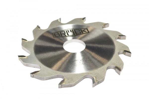 BRÜCK HW-Flachzahnnuter Z 12 - FZ - MEC 125 x 5,0/4,0 x 30 mm