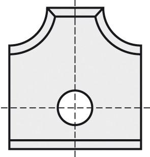 BRÜCK HW-WP 16x17,5x2 mm R=3 B05