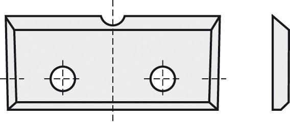BRÜCK HW-WP 16x7x1,5 mm 1-Nut B10