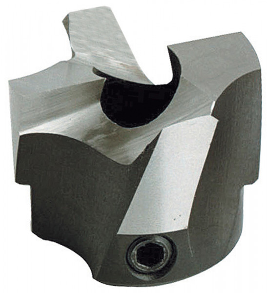 HS-Aufsteck-Stufensenker D1=6mm D2=15mm NL=13mm