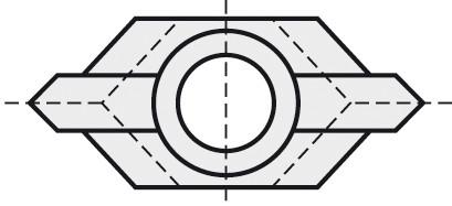 BRÜCK HW-VS 19x8x4 mm B05