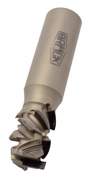 DP-Schaftfräser Z 2+2 -SPRINT- / rechts D=25mm NL=45mm GL=114mm S=25x55mm