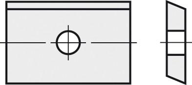 BRÜCK HW-WP 8,8x8x1,5 mm B10