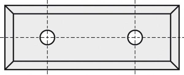 BRÜCK HW-WP 49,5x10x1,5 mm B10