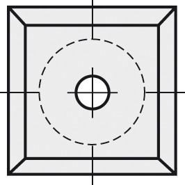 BRÜCK HW-VS 14x14x1,2 mm B05