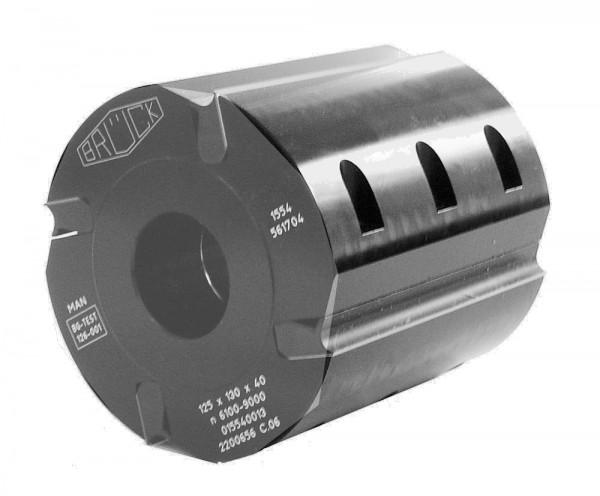 Hobelkopf SILENCE TOOLS 125x230x40 mm Z 4