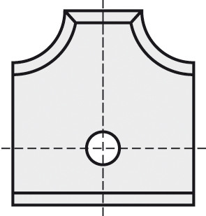 BRÜCK HW-WP 16x17,5x2 mm R=2 B05