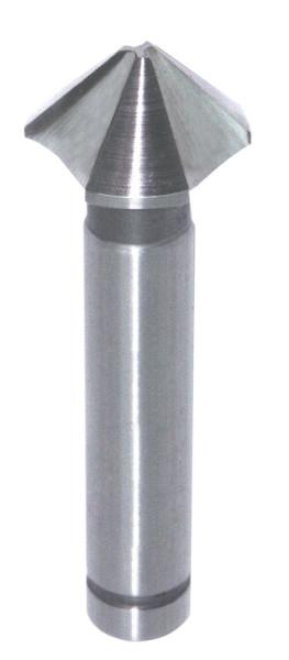 HS-Kegel- u. Entgratsenker D=12.40mm S=8mm GL=54mm